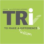 tri to make a difference logo